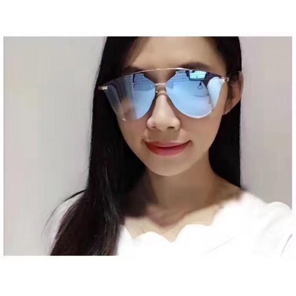 2df6c6ec0c Cheap Replica Dior Reflected Prism Aviator Sunglasses Metal Frame ...