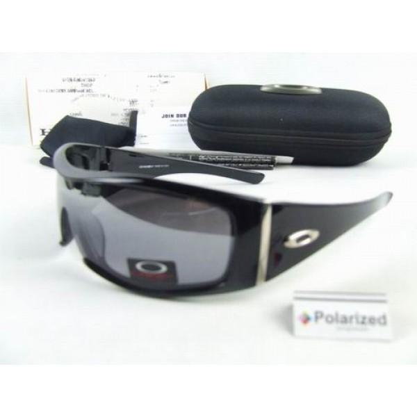 6e9a853b53 Cheap Oakley Batwolf Sunglasses Black Frame Grey Polarized Lens Sale